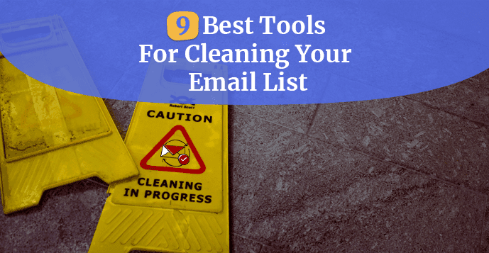email cleaning list tools