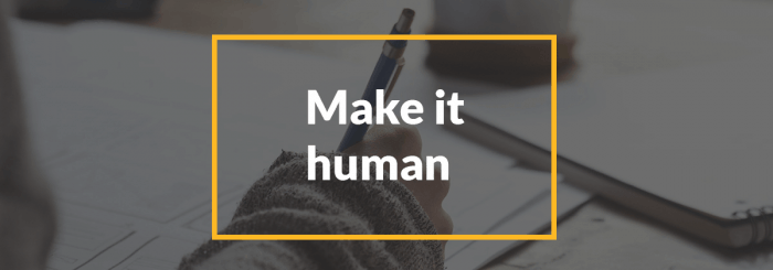 account based marketing examples and lessons make it human