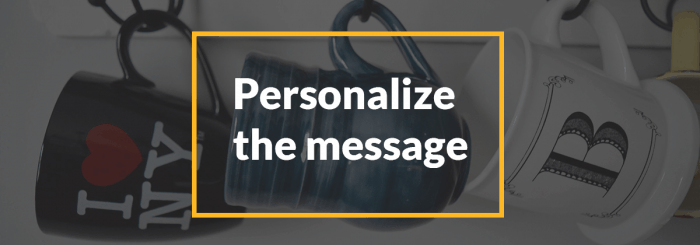 account based marketing examples and lessons personalize the message
