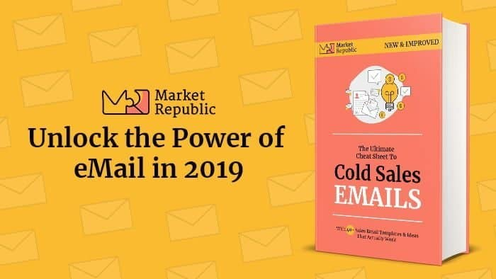 cold sales email ebook