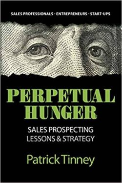 best sales prospecting books - perpetual hunger book cover