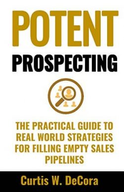 best sales prospecting books - potent prospecting book cover