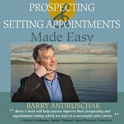 best sales prospecting books - prospecting and setting appointments made easy book cover