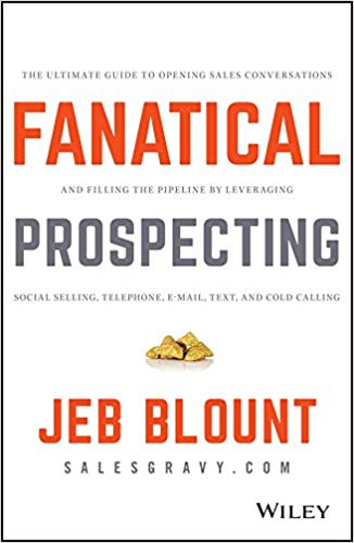 Best Inside sales books - Fanatical Prospecting | Market Republic